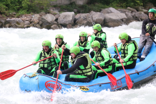 Planung Rafting Ausflug
